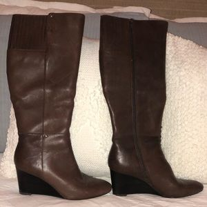 Brown Leather Ralph Lauren size 8 riding boots